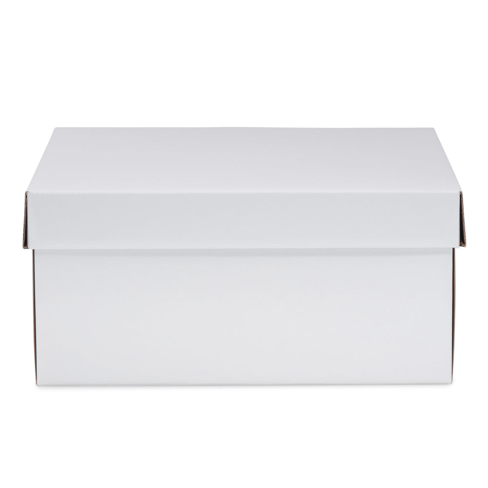 Large Hamper Box - White