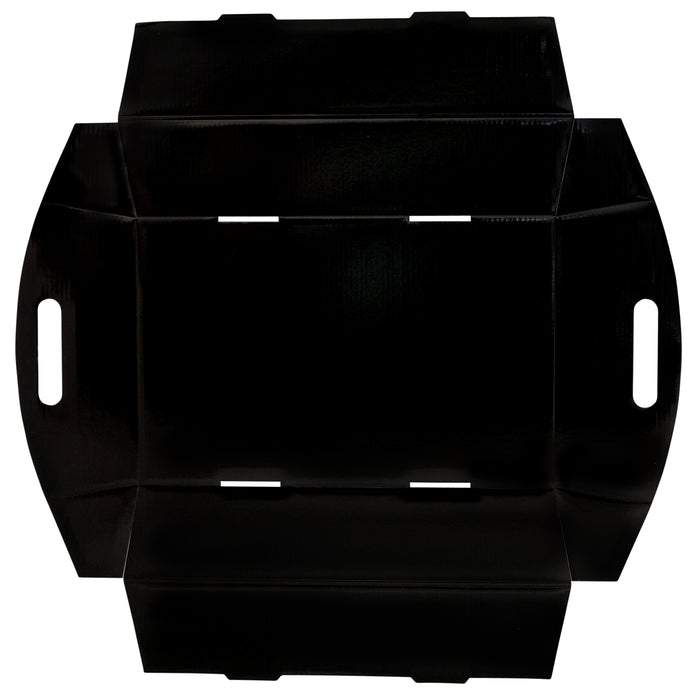 Large Hamper Tray - Black