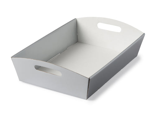 Large Hamper Tray - Silver