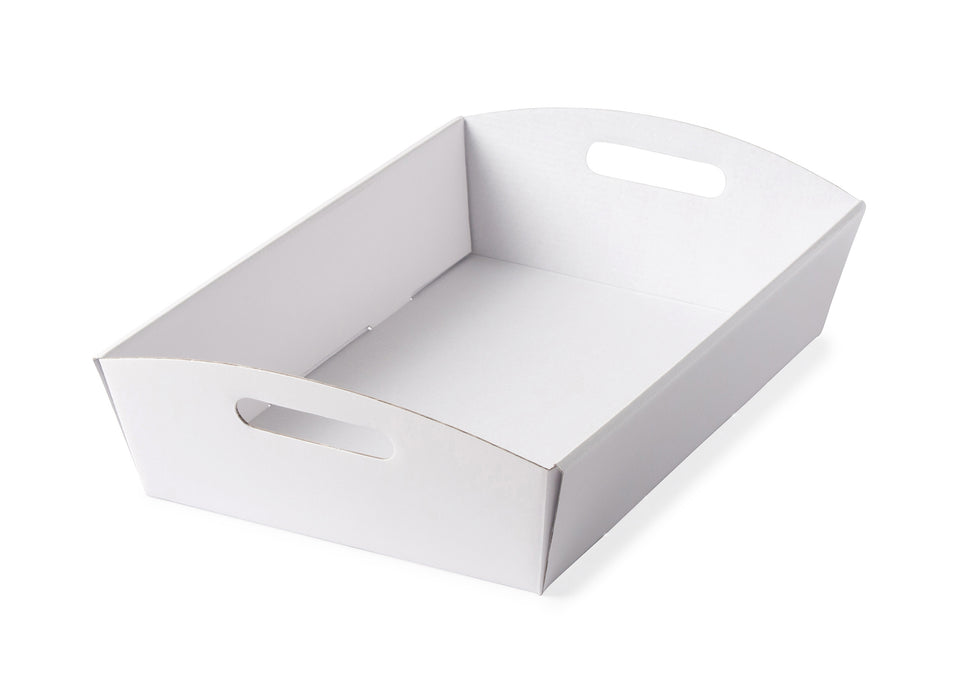 Large Hamper Tray - White - Sample