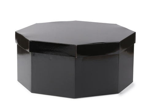 Large Hat Box - Black