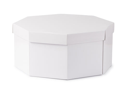 Large Hat Box - White