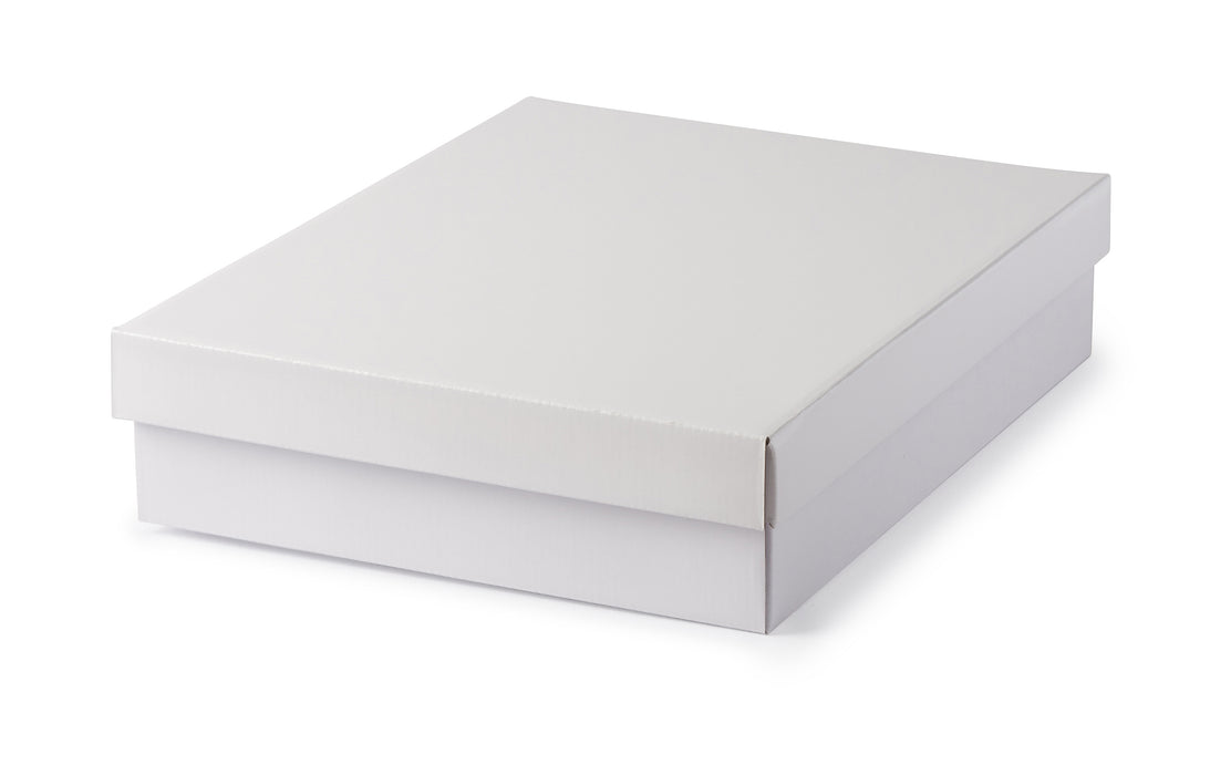 Large Shirt Box - White