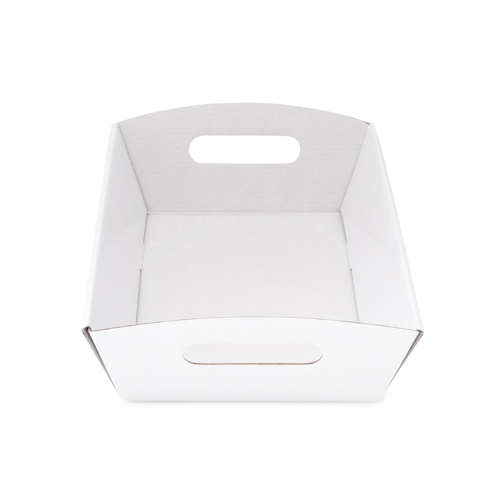 Medium Hamper Tray - White - Sample