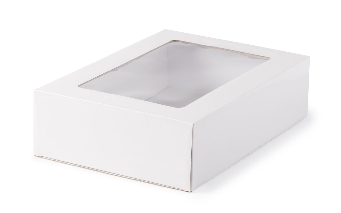 Small Gourmet Display Box - White