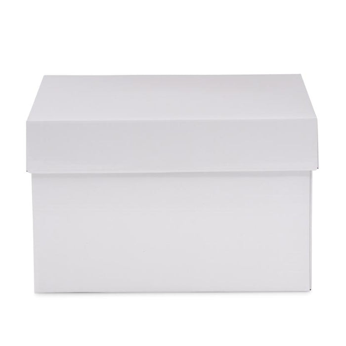 Small Hamper Box - White - Sample