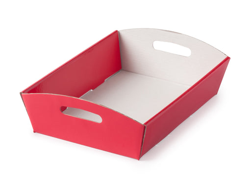 Small Hamper Tray - Red