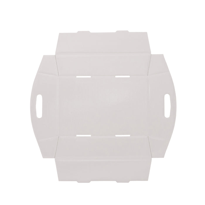 Small Hamper Tray - White - Sample
