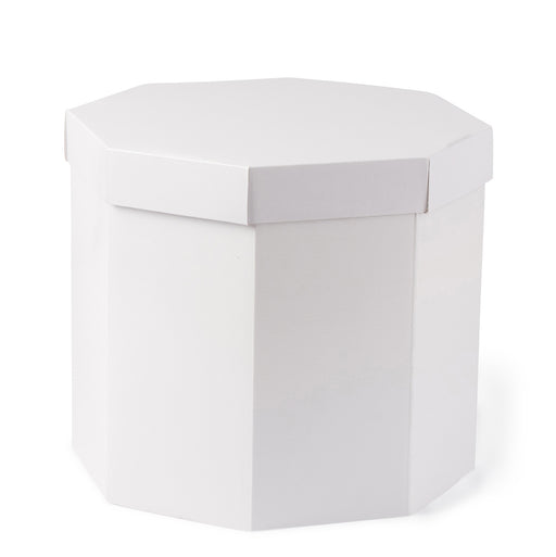 Small Hat Box - White