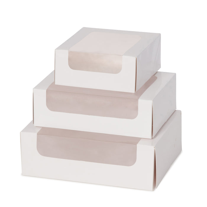 Large Macaron Box - White - Sample