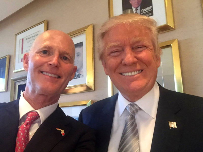 Rick Scott Says Trump Should Use Emergency Powers to Pay for  Border Wall