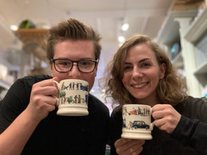 Cosying up with your favourite Emma Bridgewater mug…