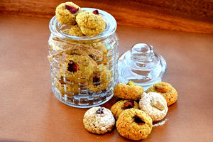 Pistachio & Rose Biscuits Recipe