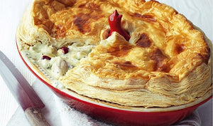 Chicken, Cranberry and White Stilton Pie Recipe