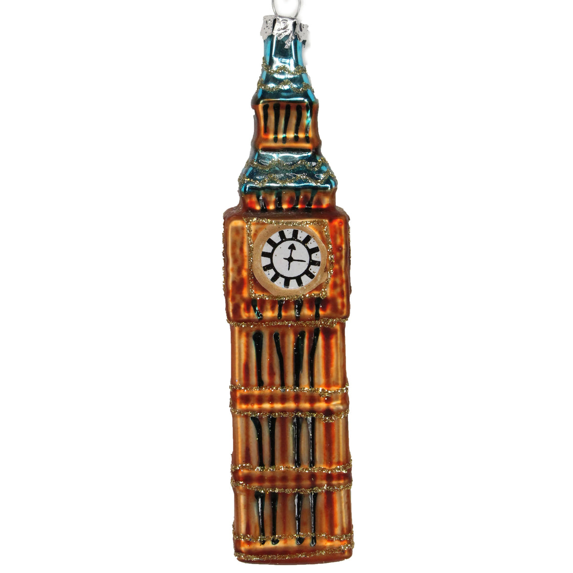 Big Ben Glass Decoration