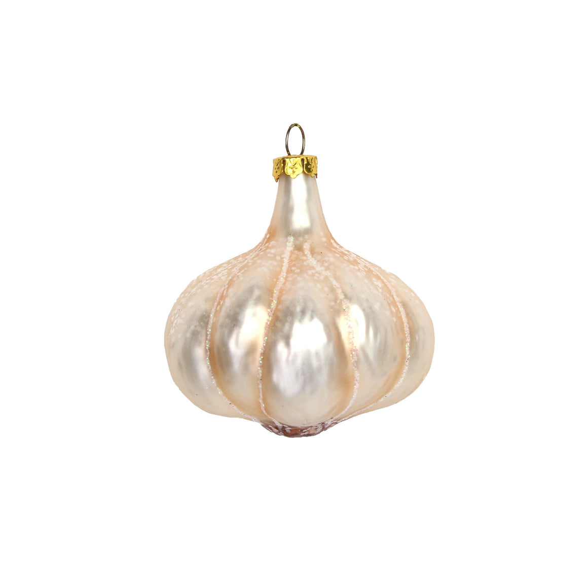 Garlic Bulb Glass Decoration