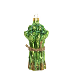 Asparagus Bunch Glass Decoration