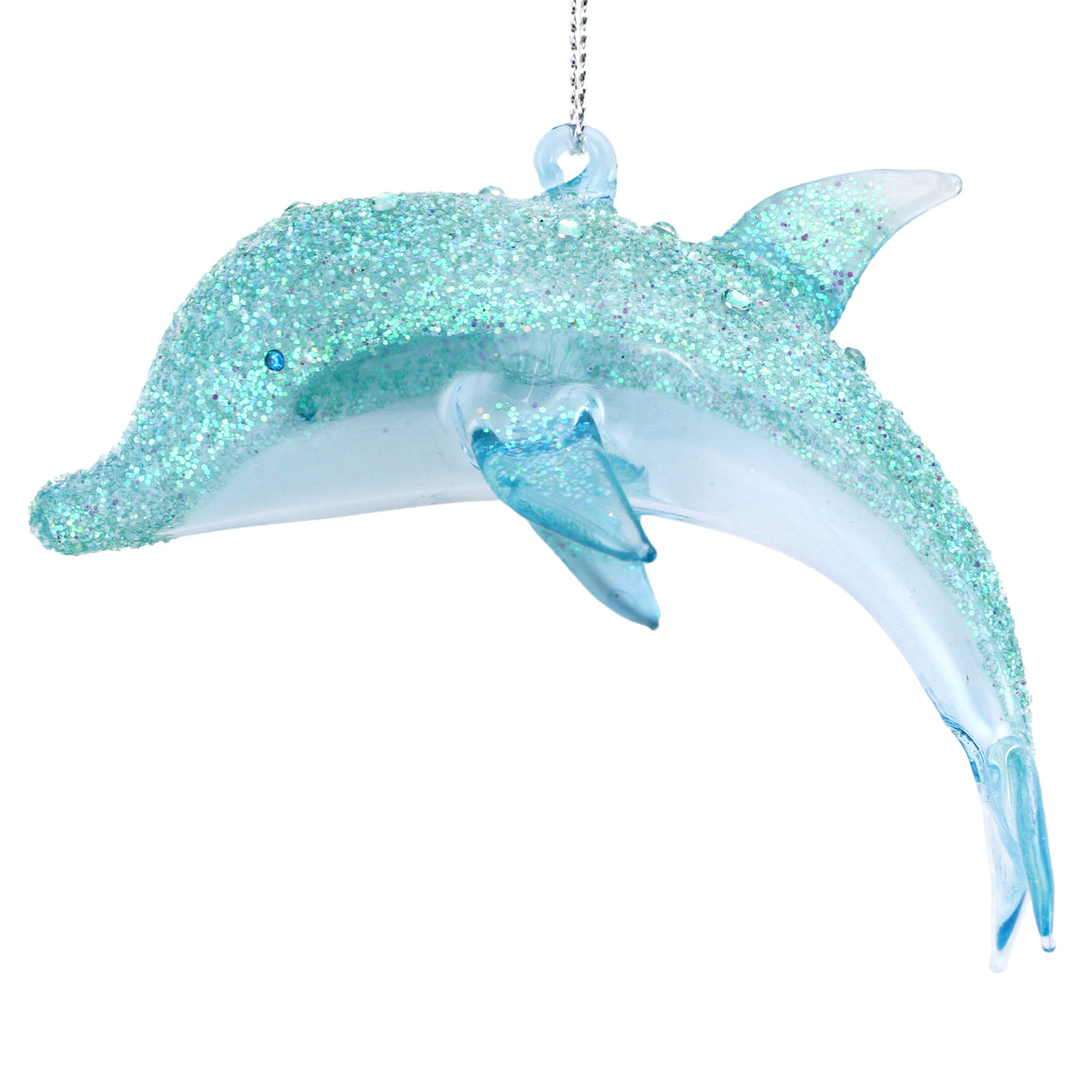 Dolphin Glass Decoration