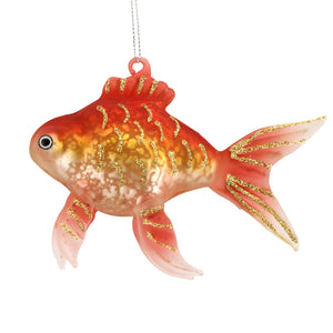 Gold Fish Glass Decoration