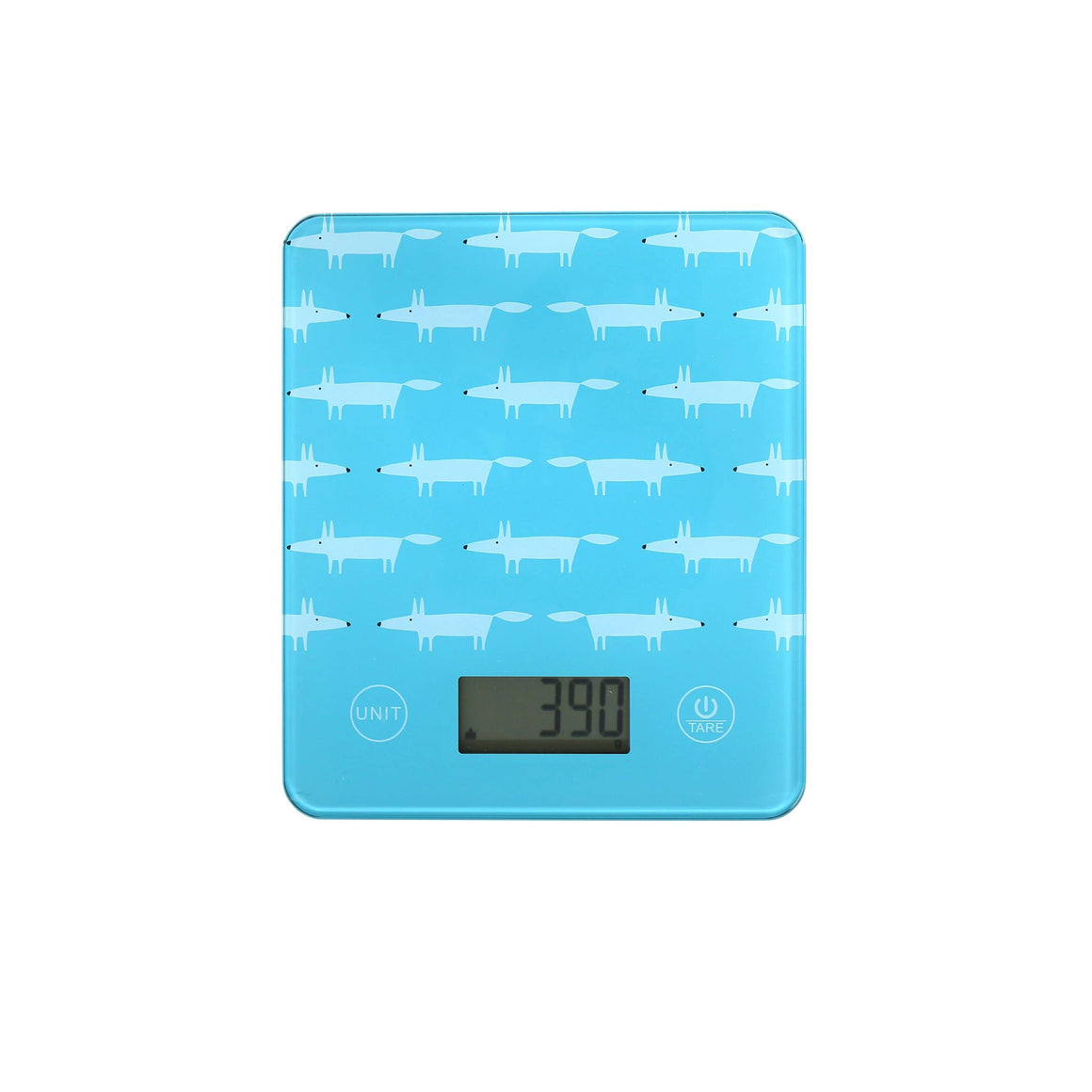 Scion Mr Fox Teal Digital Scales