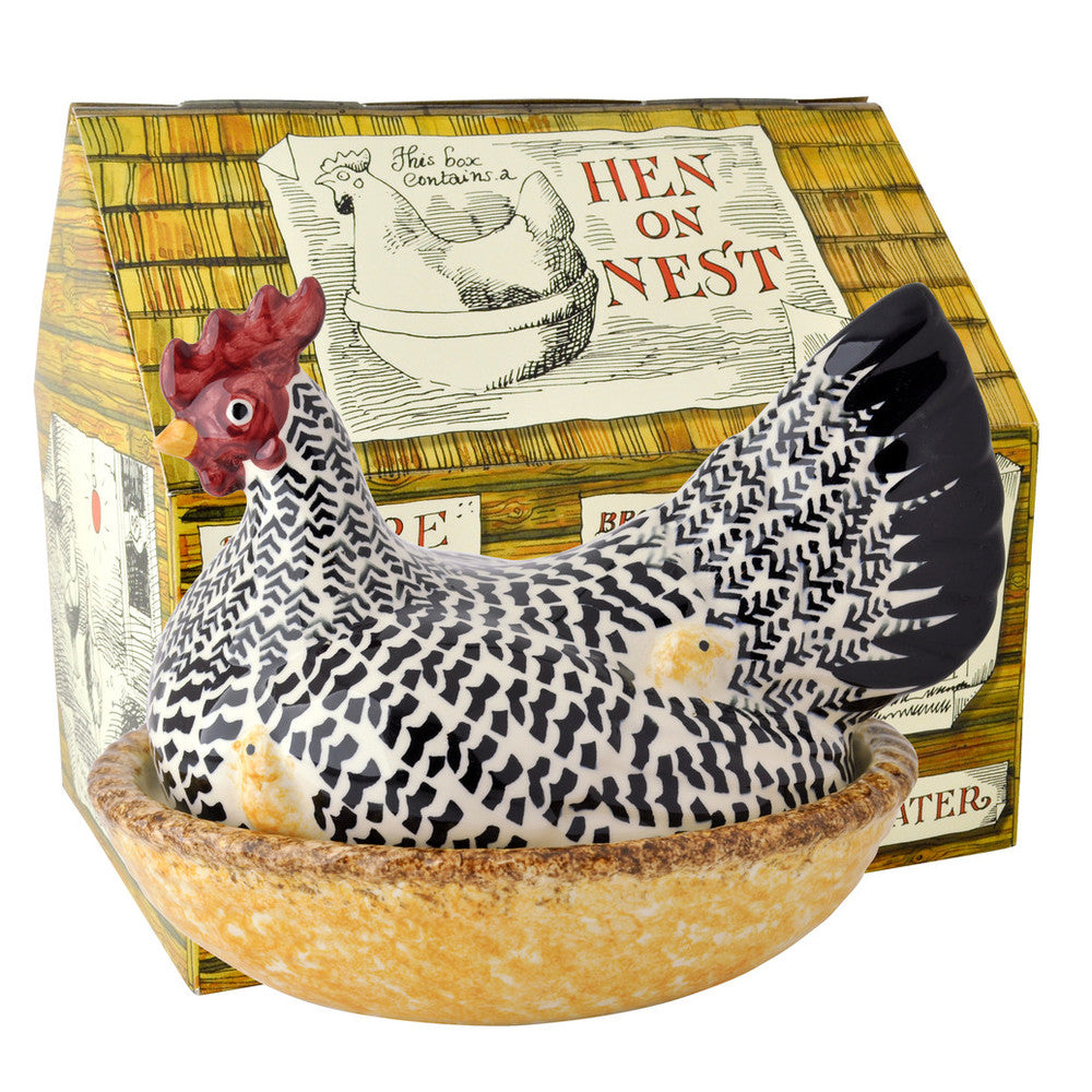 Emma Bridgewater Silver Hen On Nest
