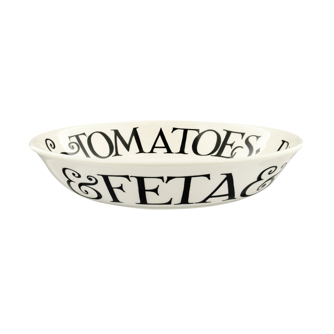Emma Bridgewater Black Toast 'Tomato Salad' Small Pasta Bowl