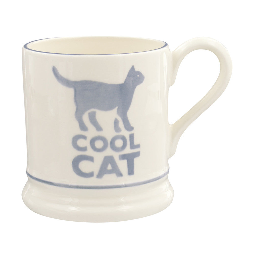Emma Bridgewater Bright Cool Cat Half Pint Mug