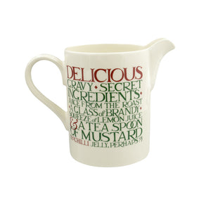 Emma Bridgewater Christmas Toast Large Straight Sided Jug