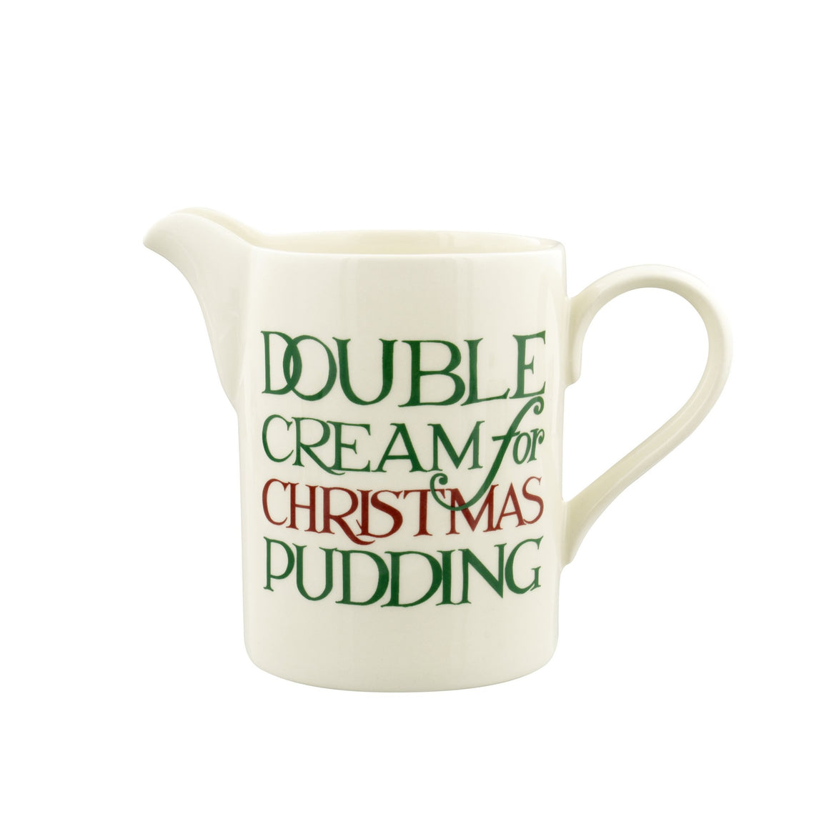 Emma Bridgewater Christmas Toast Small Straight Sided Jug