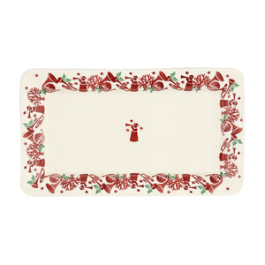 Emma Bridgewater Joy Trumpets Medium Oblong Plate