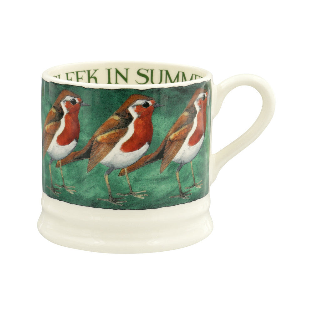 Emma Bridgewater Robin On The Green Small Mug