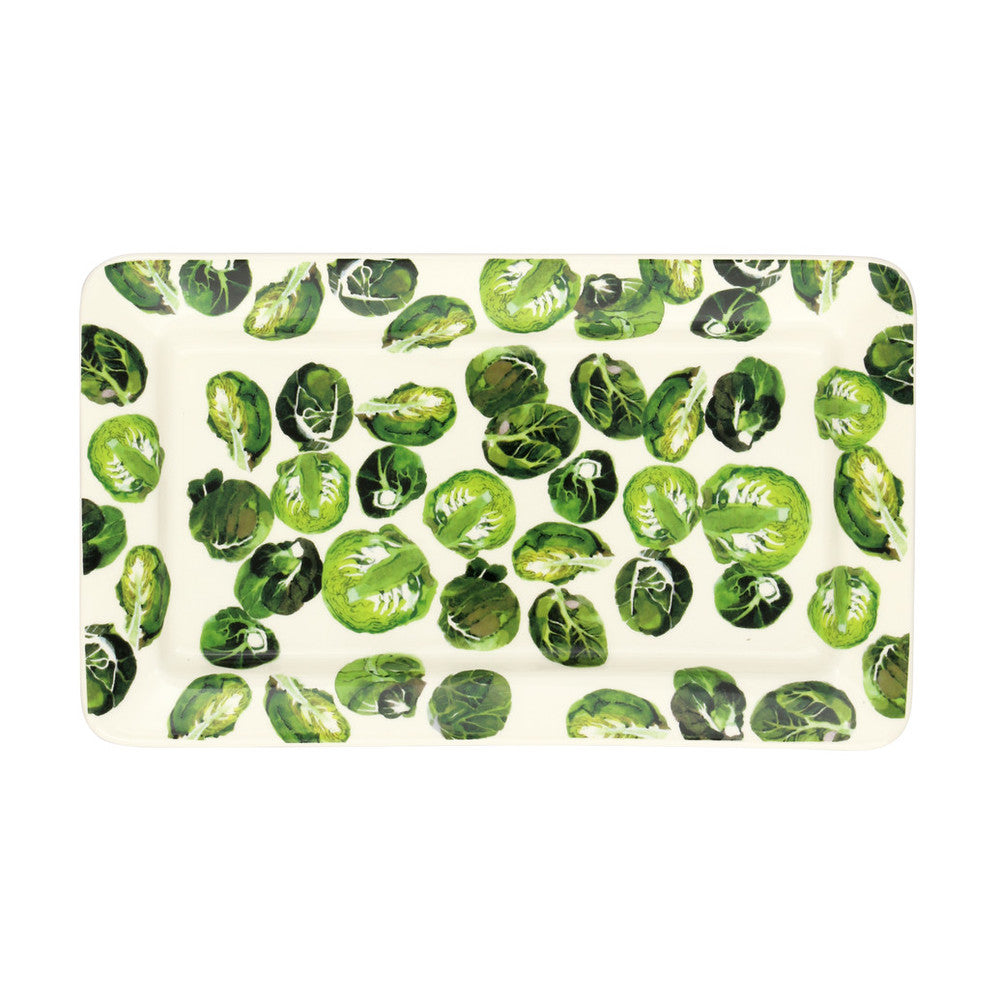 Emma Bridgewater Vegetable Garden Sprouts Oblong Plate