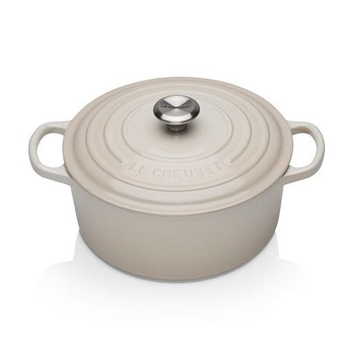 Le Creuset Signature Meringue Round Casserole - All Sizes