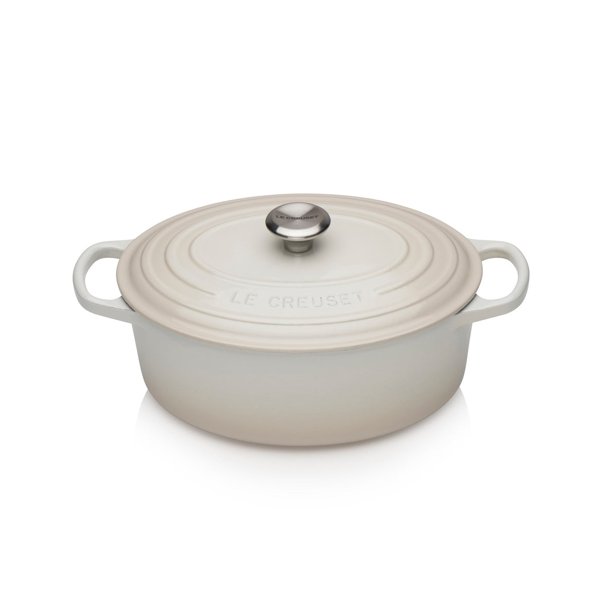 Le Creuset Signature Meringue Oval Casserole - All Sizes