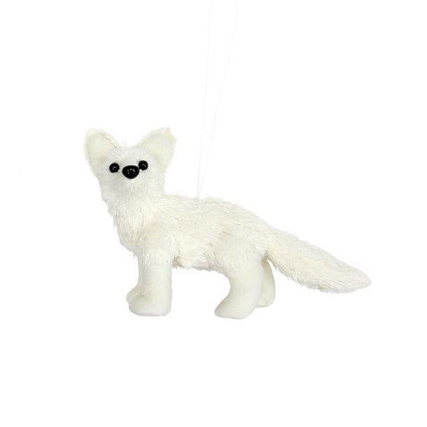 Arctic Fox Decoration