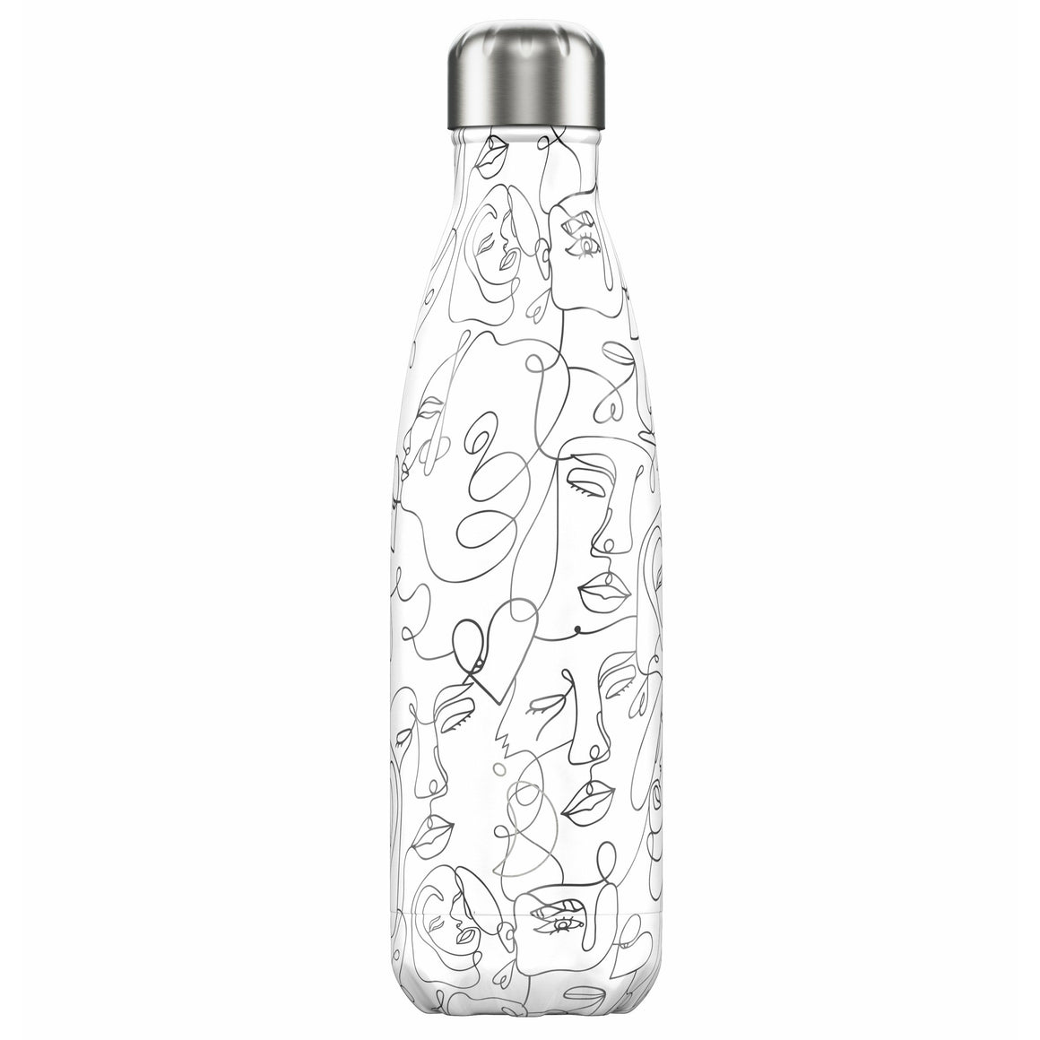 Chilly's Line Drawing 500ml Bottle - All Designs
