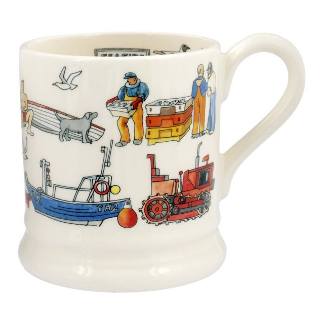 Emma Bridgewater Seaside Half Pint Mug