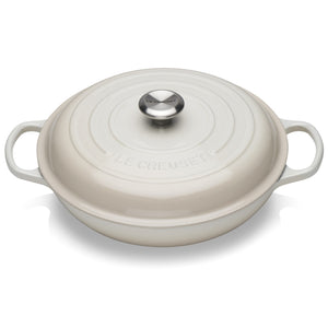 Le Creuset Signature Meringue Shallow Casserole - All Sizes