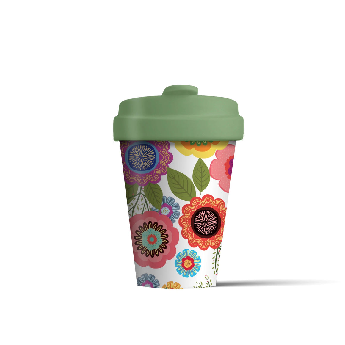 Flower Power Bamboo Cup