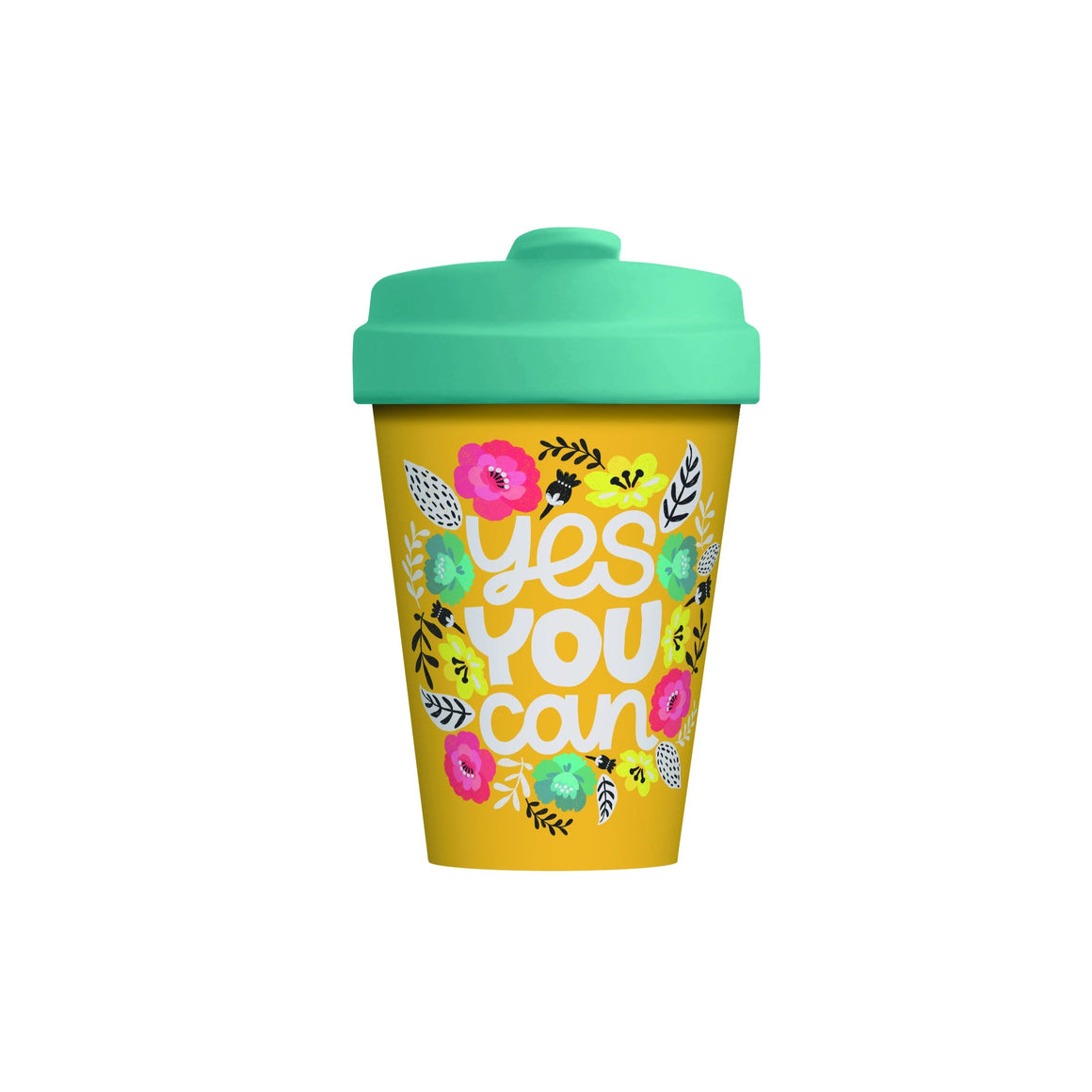 Yes You Can Bamboo Cup
