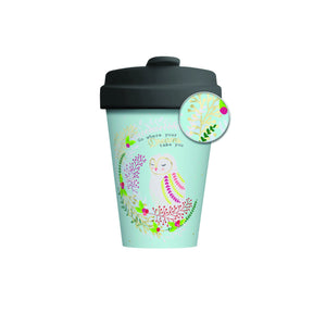 Owl Dreams Bamboo Cup
