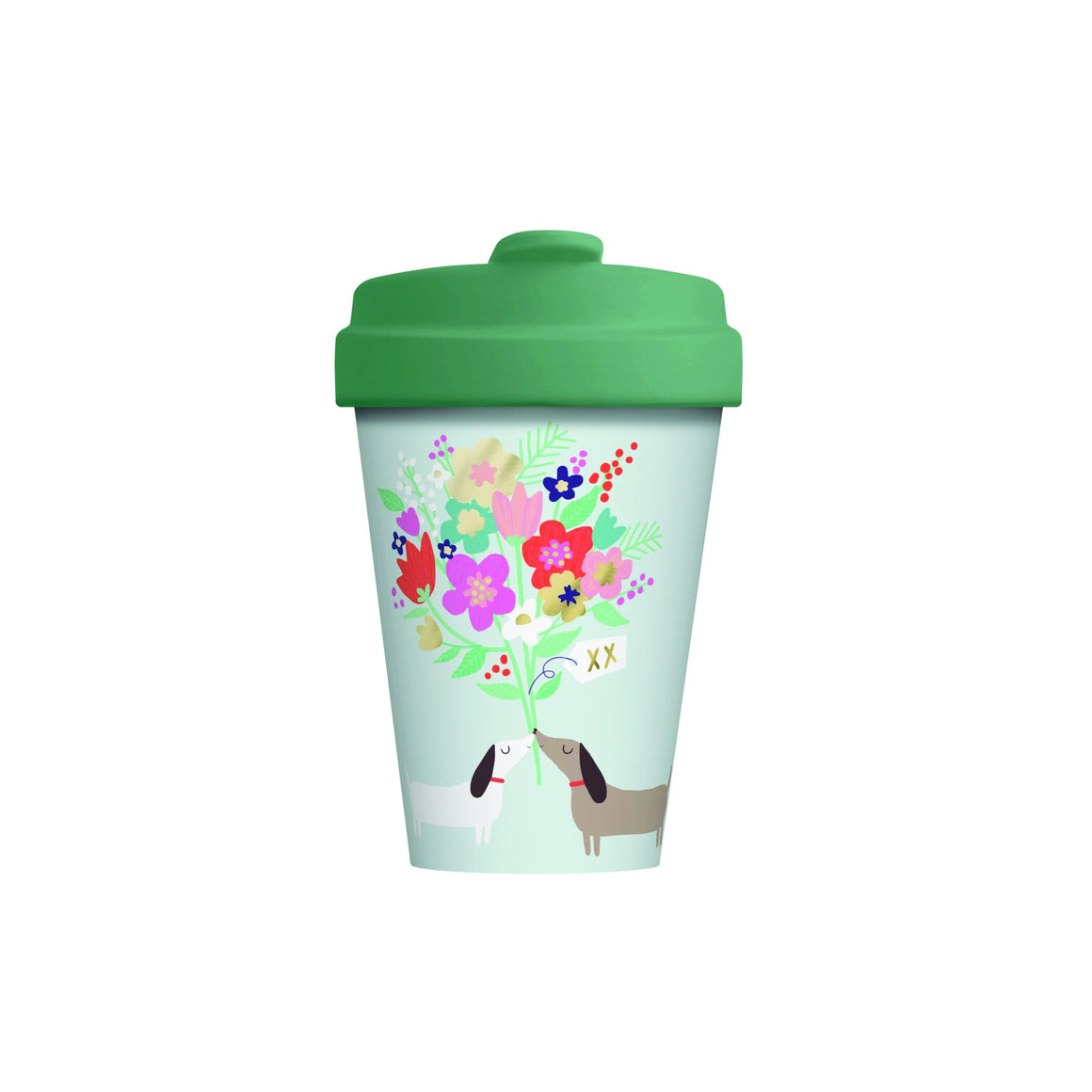 Lovely Doggies Bamboo Cup