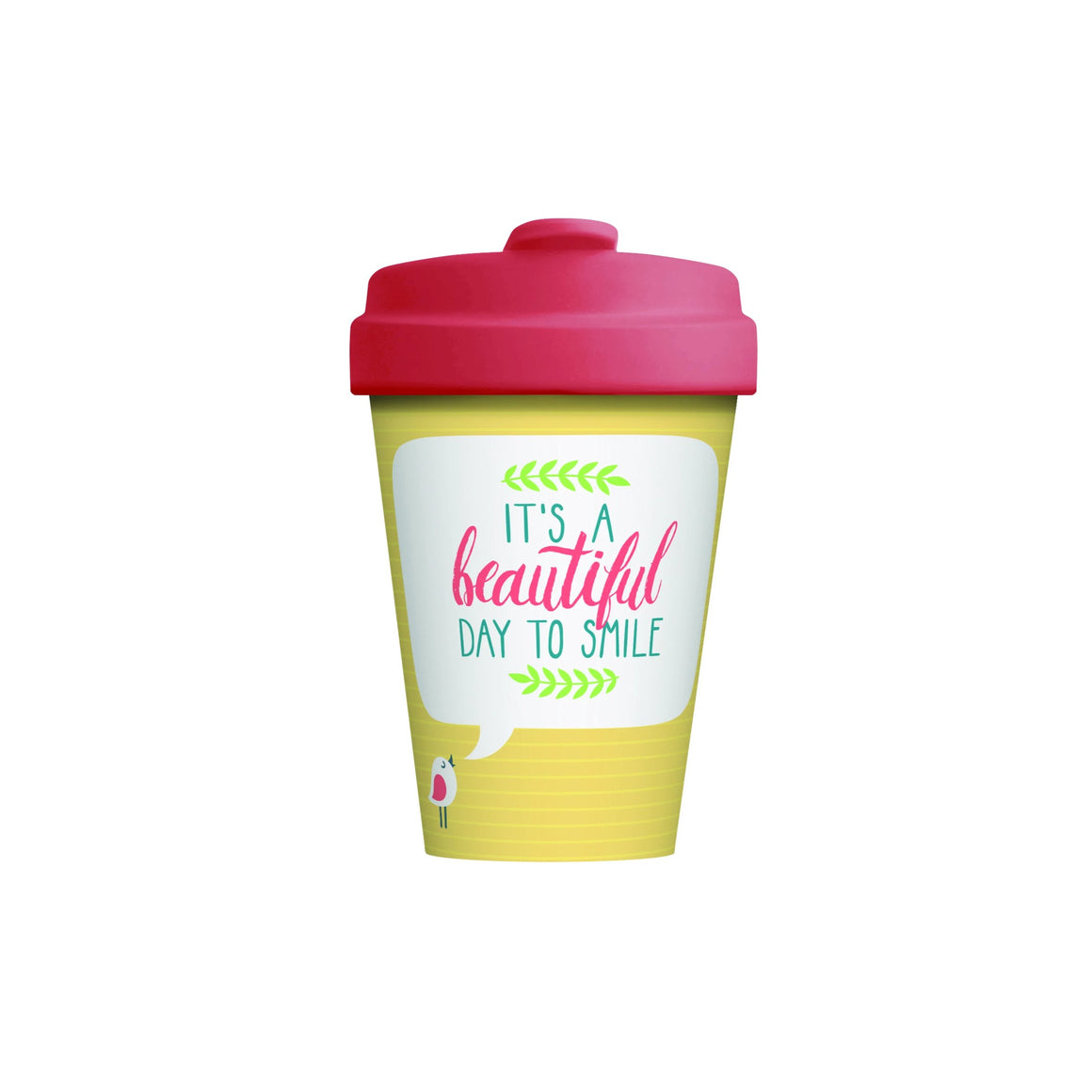 Beautiful Smile Bamboo Cup