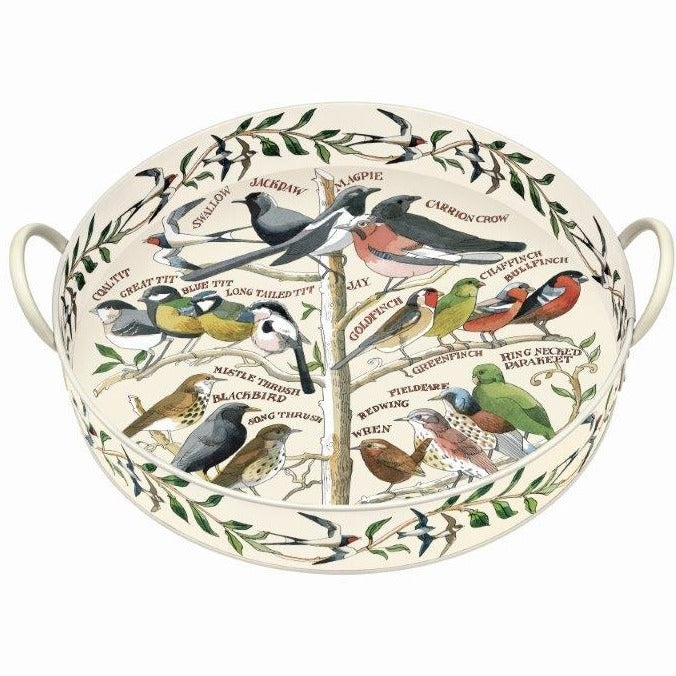 Emma Bridgewater Garden Birds Large Tin Tray