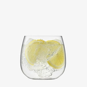 LSA Borough Stemless White Wine Glass Set