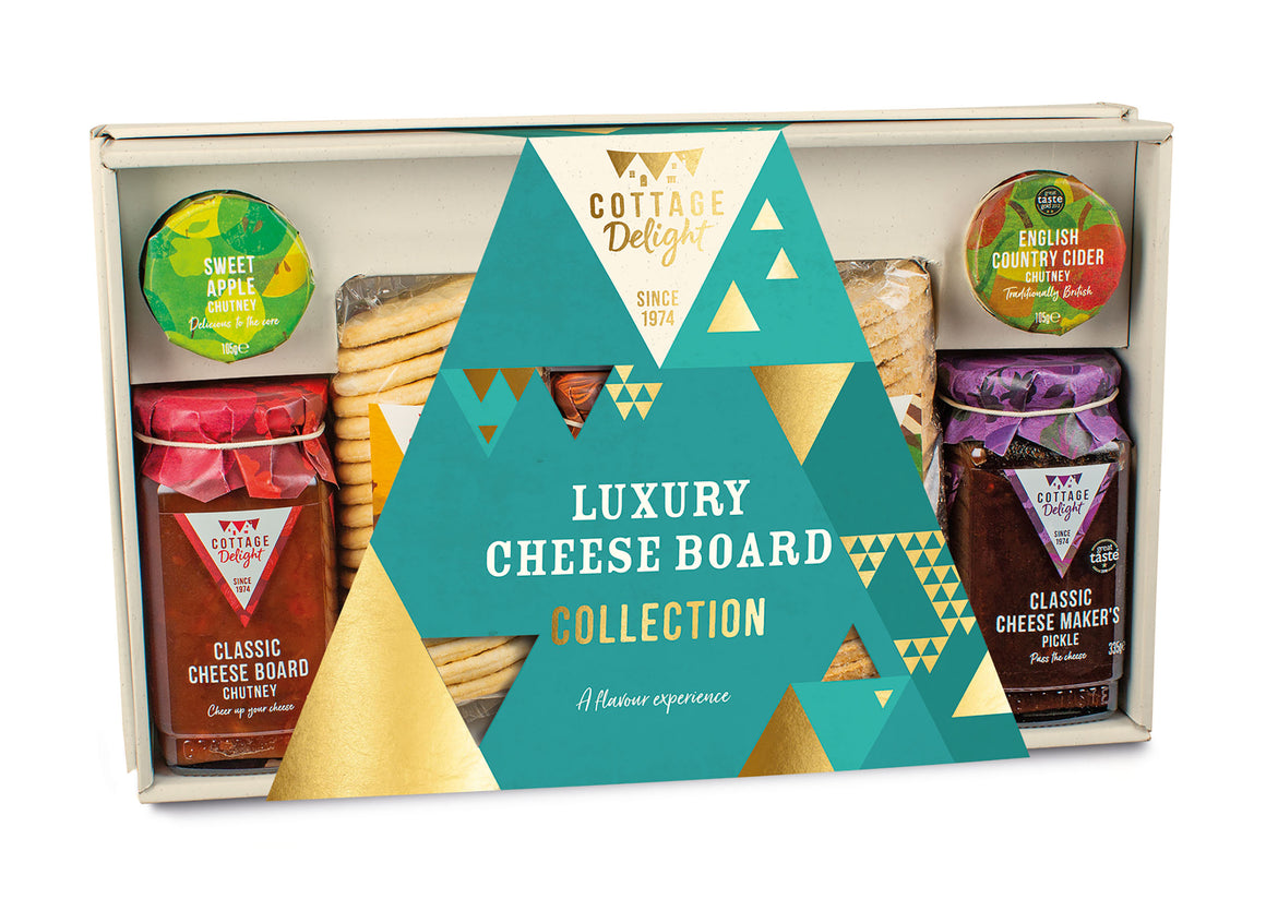Cottage Delight Luxury Cheese Board Collection Hamper
