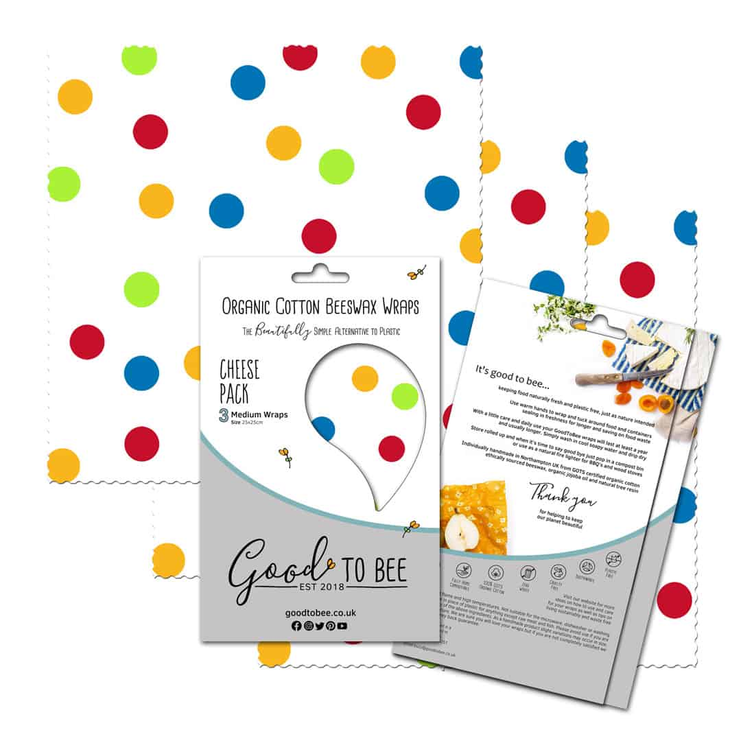 GoodToBee Cheese Pack (Confetti)
