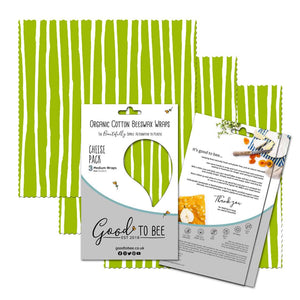 GoodToBee Cheese Pack (Bark & Weave)