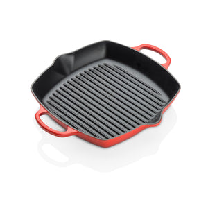 Le Creuset Signature Cast Iron Cerise Grillit - All