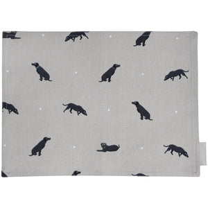 Sophie Allport Black Lab Placemat